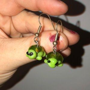 Handmade Turtle Earrings‼️BOGO‼️
